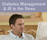 Diabetes Management and IR in the News
