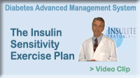 Click here to learn about: The Insulin Sensitivity Exercise Plan